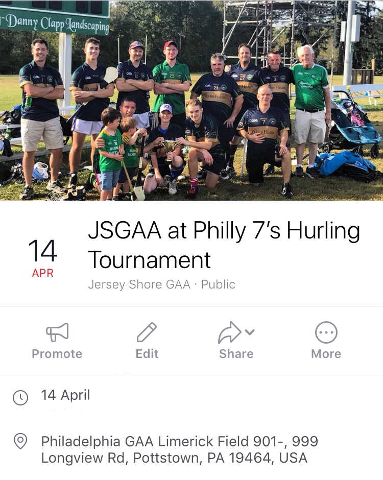 JSGAA – Forthcoming Hurling Games